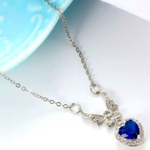 Heart of the Ocean silver necklace